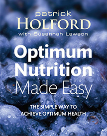 Susannah Lawson Health And Nutrition UK Optimum Nutrition Made Easy Book Cover