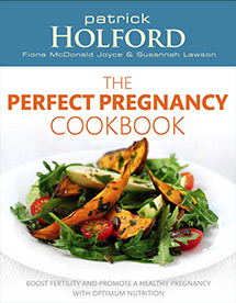 Susannah Lawson Health And Nutrition UK The Perfect Pregnacy Cookbook Book Cover